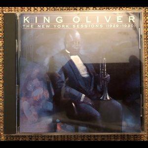 King Oliver rare jazz CD, NY Sessions 1929-30